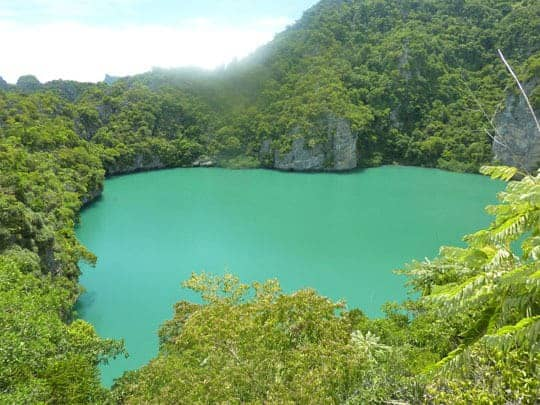 The Emerald Lagoon Ang Thong Marine Park