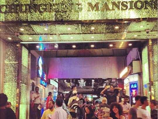 Chingking Mansions Hong Kong