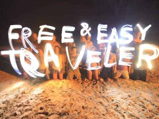 Free & Easy Traveler blog post