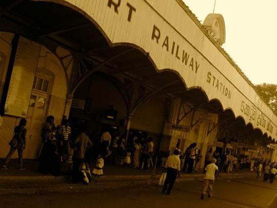 Sri Lanka Train Station