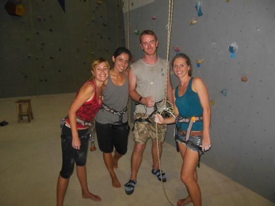 Greg Rodgers rock climbing chiang mai