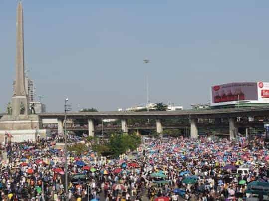 Bangkok Protests Thailand