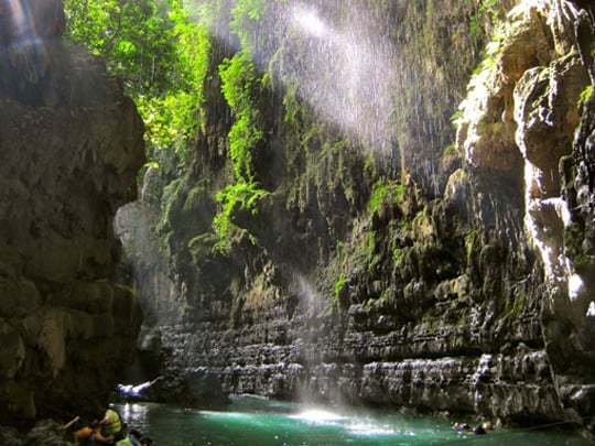 Green Canyon Indonesia, between Pangandaran & Batu Karas
