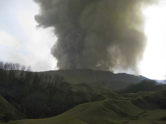 Mount Bromo at a closer look edit
