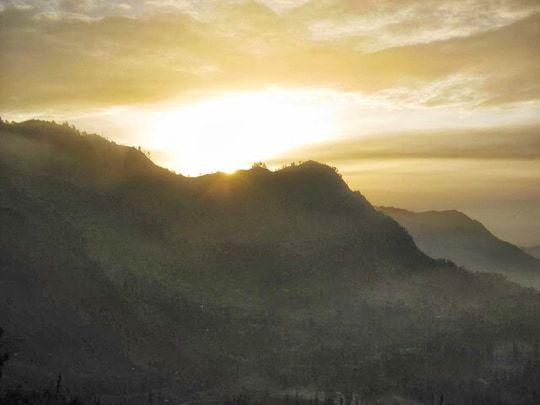 Sunrise from Mount Penanjakan blog