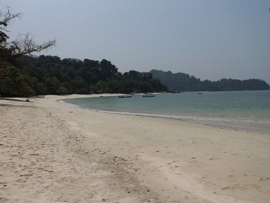 Coral beach Pulau Pangkor