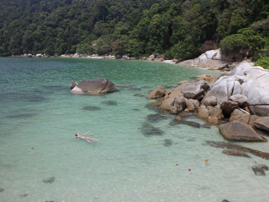 Secret beach Pulau Pangkor