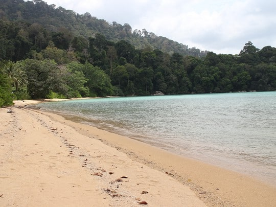 Monkey beach Tioman