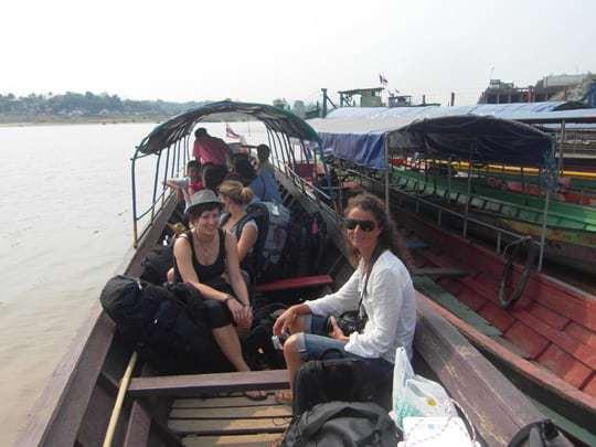 Border crossings - Thailand to Laos.