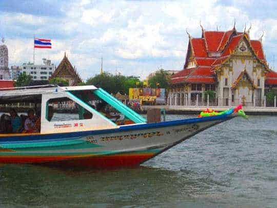 Boat Canal Bangkok