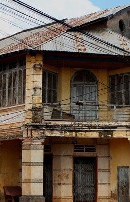 Kampot shophouse