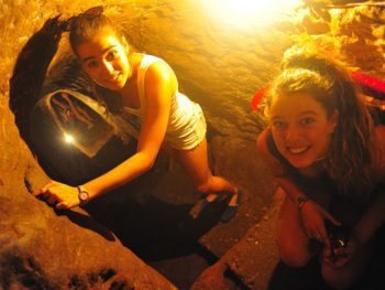 Exploring the caves of Vinh Moc