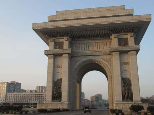 arc de triomphe? North Korea