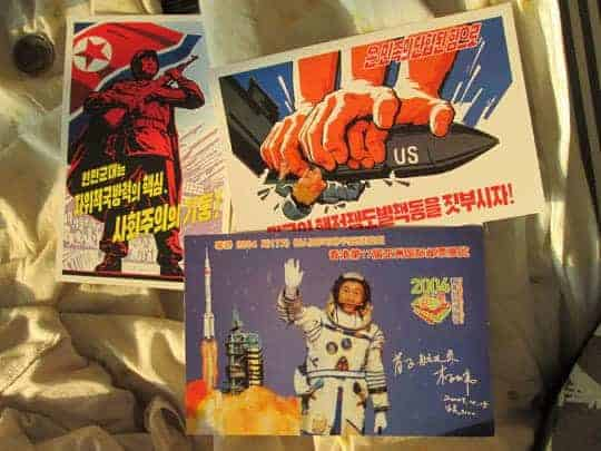 Propaganda Postcards in North Korea