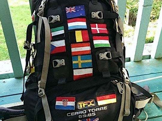 Backpack flags 2