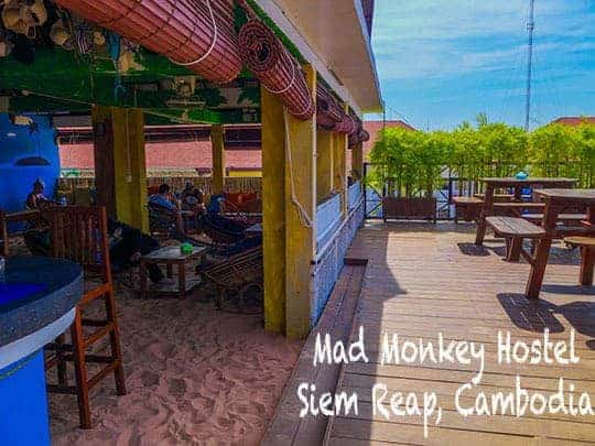 Mad Monkey Hostel Siem Reap Best Hostel South East Asia Backpacker