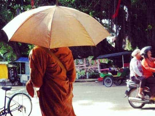 Sister Srey monk
