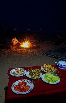 Jungle Beach Resort Best Hostel Nha Trang Vietnam BBQ Bonfire