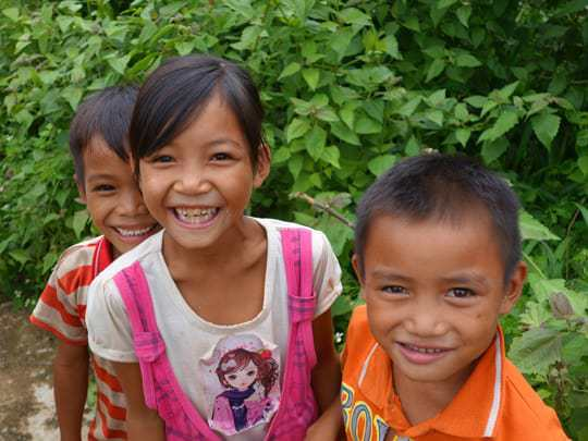 Backpacker Respect South East Asia Kids