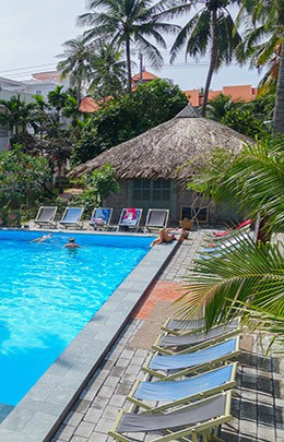 Mui Ne Backpacker Village South East Asia Best Hostel Pool 2