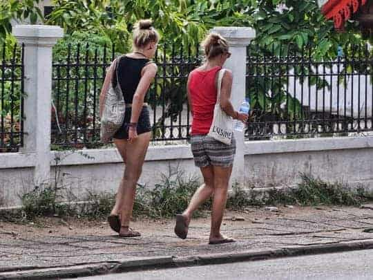 Backpacker Respect South East Asia Short Shorts