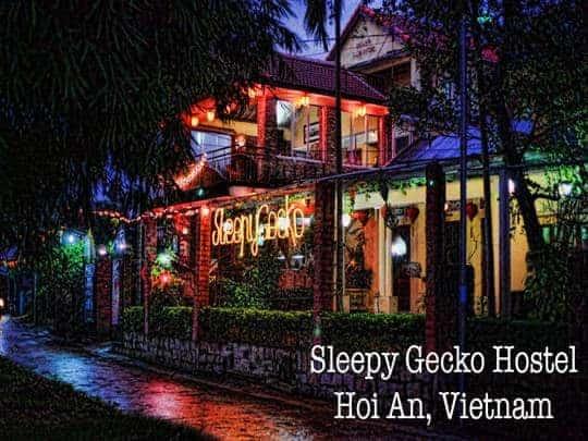 Sleepy Gecko Best Hostel Hoi An Vietnam South East Asia Backpacker Feature