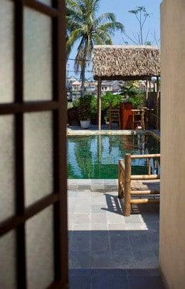 Sleepy Gecko Best Hostel Hoi An Vietnam South East Asia Backpacker Pool