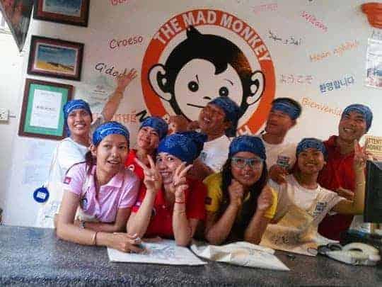 Mad Monkey Staff