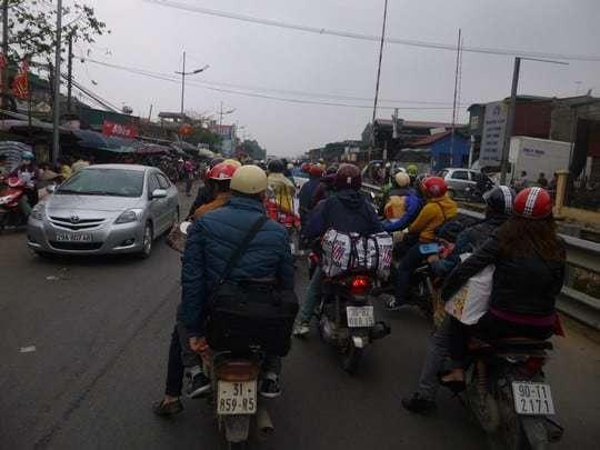 Photo 1 - Hanoi Traffic