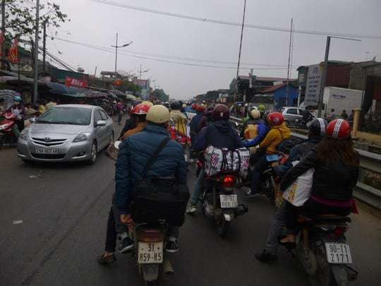 Photo 1 - Hanoi Traffic