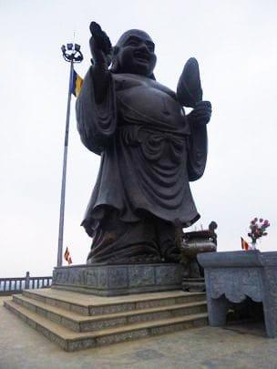 'Standing Maitreya – The Happy Buddha'