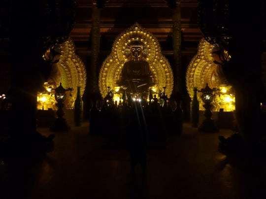 The Three Golden Buddhas