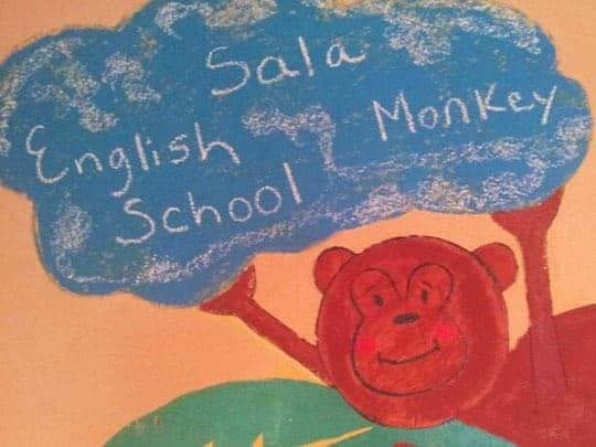 Sala Monkey School Kep