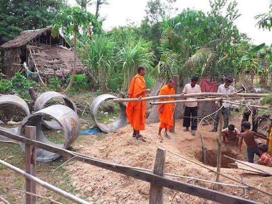 Water wells Cambodia