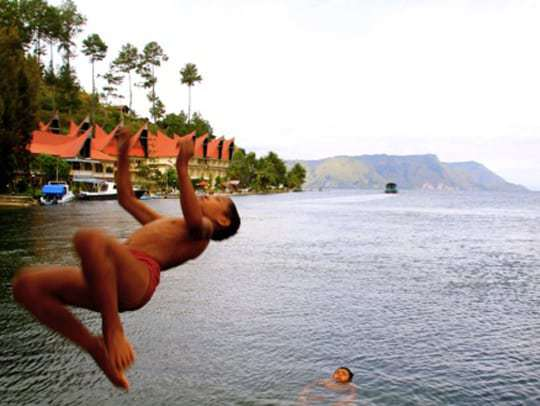 Lake Toba, Sumatra, Indonesia, Batak People.