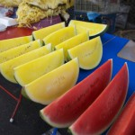yellow watermelon - Myanmar Travel Essentials 2