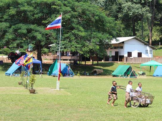 Volunteer Hill Tribes Chiang Rai (THAILAND)