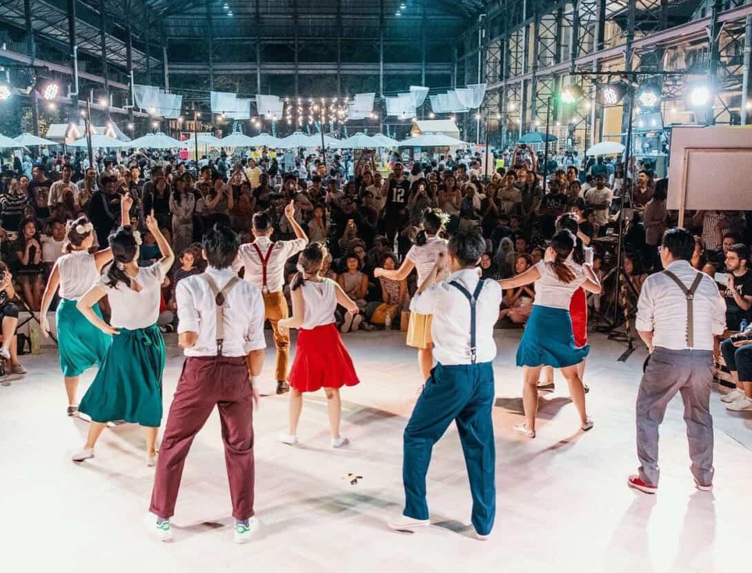 Swing Dancing in Kuala Lumpur, Malaysia.