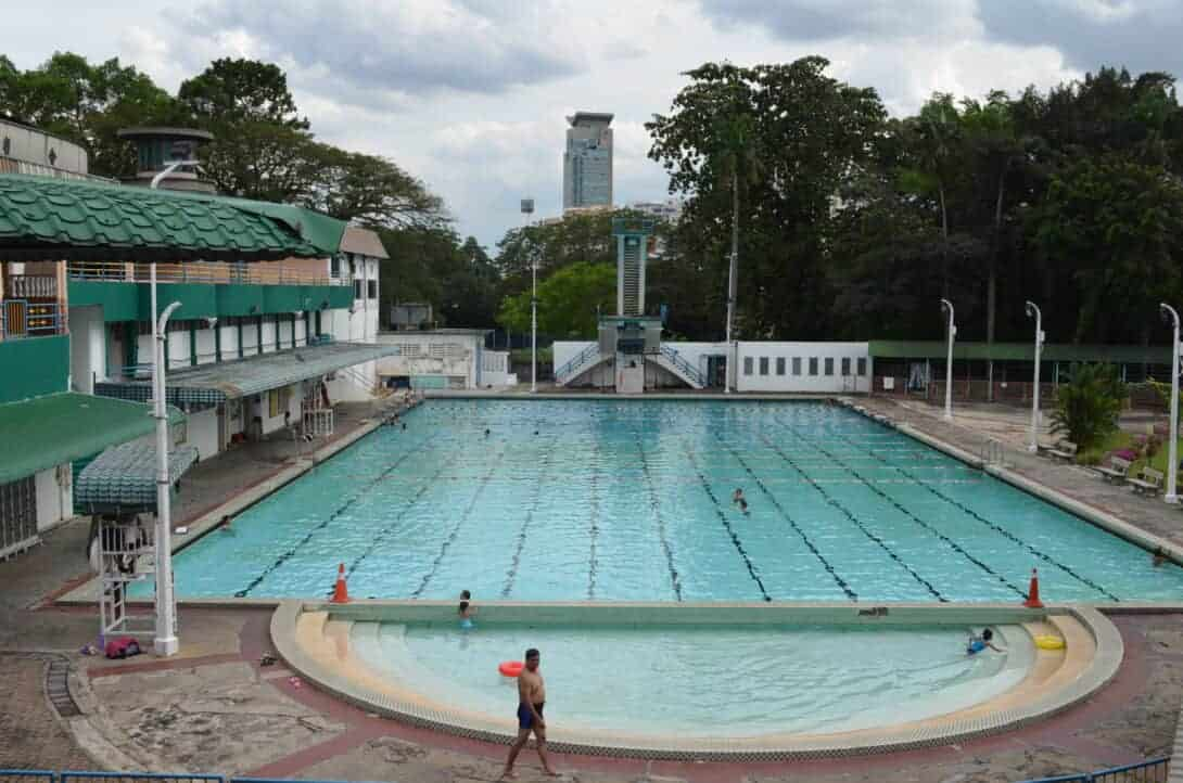 Olympic Sized Swimming Pool, KL.