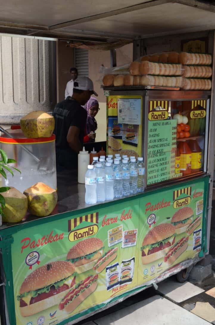 Ramly Burger Stand, KL.