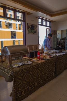 Buffet Mountain View Hotel Sapa Vietnam Best Hostels South East Asia Backpacker Magazine