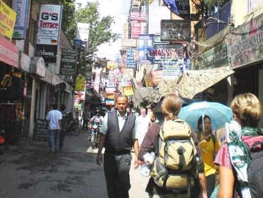 Arriving in Kathmandu