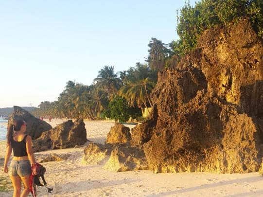 Philippines Boracay Rocks