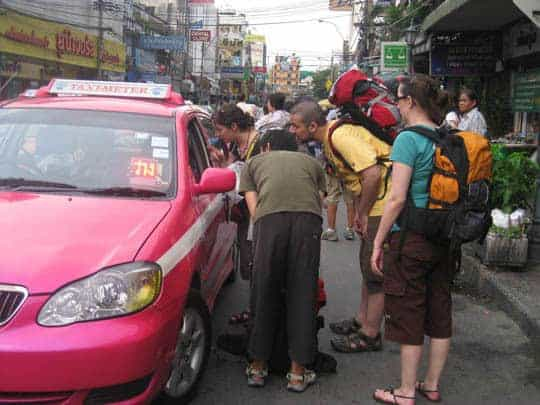 Taxi South East Asia