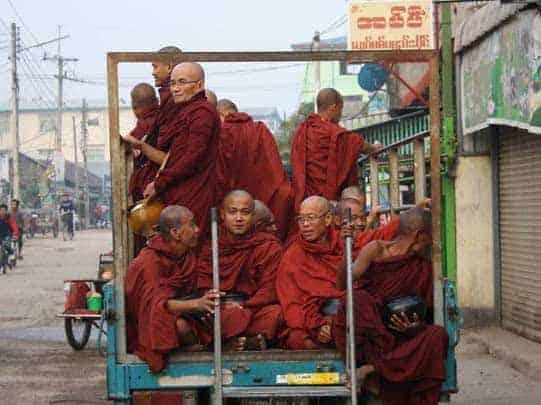 local transport monks