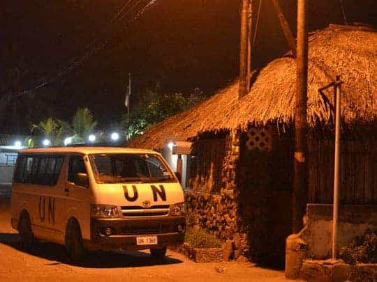 11. East Timor, UN presence