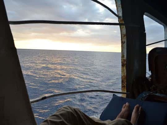4. ferry to Kupang