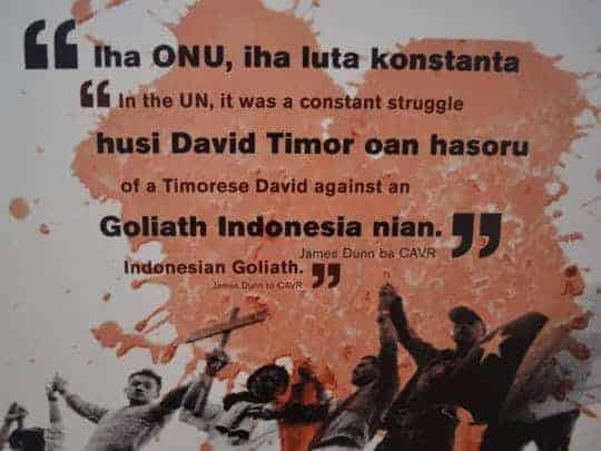 6. Dili, Museum, quote II