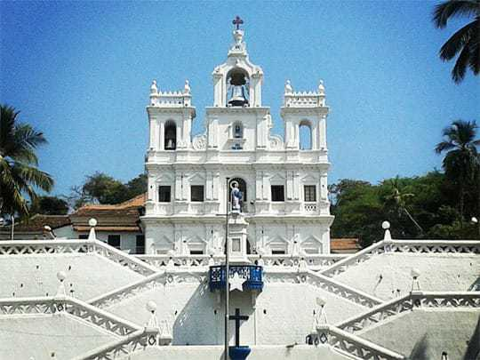 A White Church in Panjim