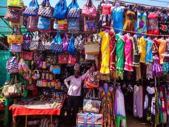 EDIT - flea market Goa